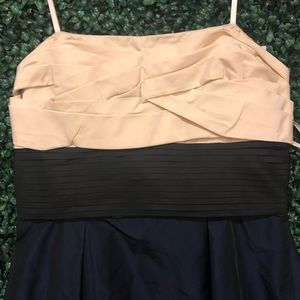 BCBGMaxAzria Dresses - BCBMAXazria  navy blue sleeveless dress